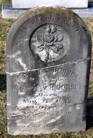 DORSET, SAMUEL CARY - Chesterfield County, Virginia | SAMUEL CARY DORSET - Virginia Gravestone Photos