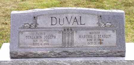 BEASLEY DUVAL, MARTHA S. - Chesterfield County, Virginia | MARTHA S. BEASLEY DUVAL - Virginia Gravestone Photos