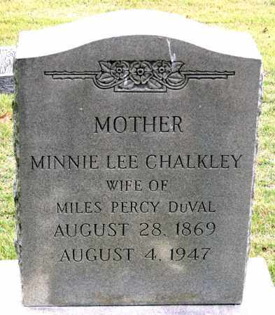 DUVAL, MINNIE LEE - Chesterfield County, Virginia | MINNIE LEE DUVAL - Virginia Gravestone Photos