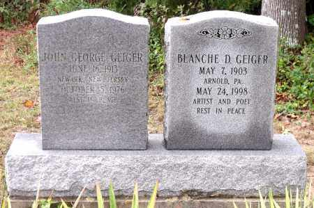 GEIGER, BLANCHE D. - Chesterfield County, Virginia | BLANCHE D. GEIGER - Virginia Gravestone Photos
