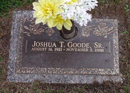 GOODE, JOSHUA T. SR. - Chesterfield County, Virginia | JOSHUA T. SR. GOODE - Virginia Gravestone Photos