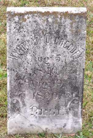 GREGORY, WYNDHAM D. - Chesterfield County, Virginia | WYNDHAM D. GREGORY - Virginia Gravestone Photos