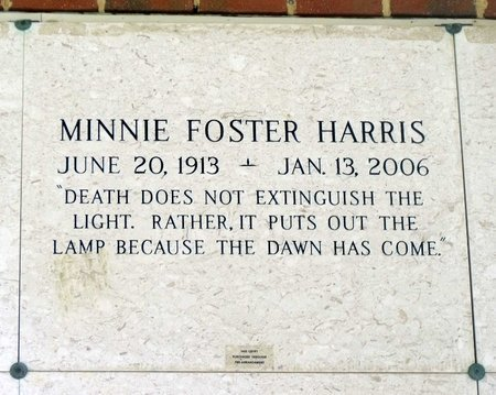 HARRIS, MINNIE - Chesterfield County, Virginia | MINNIE HARRIS - Virginia Gravestone Photos