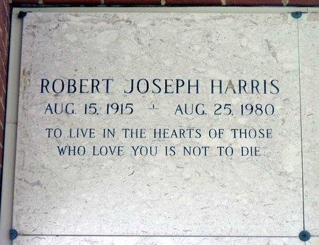 HARRIS, ROBERT JOSEPH - Chesterfield County, Virginia | ROBERT JOSEPH HARRIS - Virginia Gravestone Photos