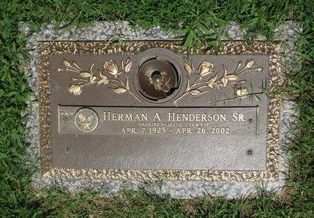 HENDERSON, HERMAN A. SR. - Chesterfield County, Virginia | HERMAN A. SR. HENDERSON - Virginia Gravestone Photos