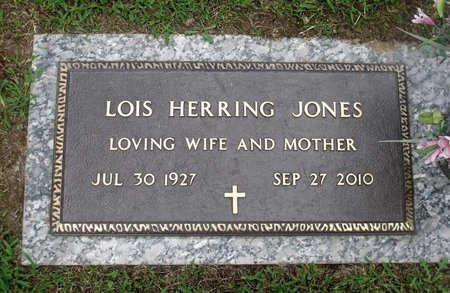 JONES, LOIS - Chesterfield County, Virginia | LOIS JONES - Virginia Gravestone Photos