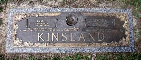 KINSLAND, MAUD S. - Chesterfield County, Virginia | MAUD S. KINSLAND - Virginia Gravestone Photos