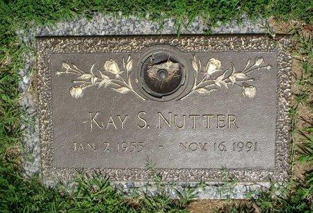 NUTTER, KAY S. - Chesterfield County, Virginia   KAY S. NUTTER - Virginia Gravestone Photos