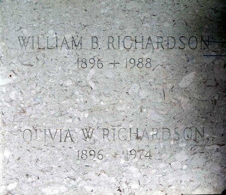 RICHARDSON, WILLIAM B. - Chesterfield County, Virginia | WILLIAM B. RICHARDSON - Virginia Gravestone Photos
