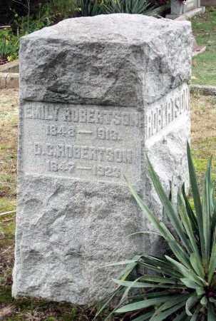ROBERTSON, EMILY - Chesterfield County, Virginia | EMILY ROBERTSON - Virginia Gravestone Photos