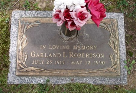 ROBERTSON, GARLAND L. - Chesterfield County, Virginia | GARLAND L. ROBERTSON - Virginia Gravestone Photos