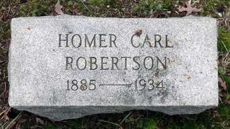 ROBERTSON, HOMER CARL - Chesterfield County, Virginia | HOMER CARL ROBERTSON - Virginia Gravestone Photos