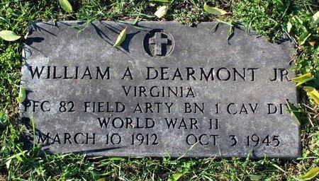 DEARMONT, WILLIAM A. - Clarke County, Virginia | WILLIAM A. DEARMONT - Virginia Gravestone Photos