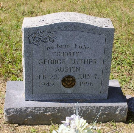 AUSTIN, GEORGE LUTHER - Craig County, Virginia | GEORGE LUTHER AUSTIN - Virginia Gravestone Photos