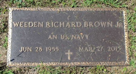 BROWN, WEEDEN RICHARD JR. - Craig County, Virginia | WEEDEN RICHARD JR. BROWN - Virginia Gravestone Photos
