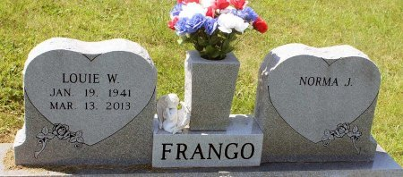 FRANGO, LOUIE W. - Craig County, Virginia | LOUIE W. FRANGO - Virginia Gravestone Photos
