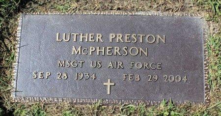 MCPHERSON, LUTHER PRESTON - Craig County, Virginia | LUTHER PRESTON MCPHERSON - Virginia Gravestone Photos