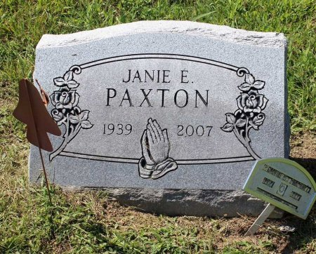 PAXTON, JANIE E. - Craig County, Virginia | JANIE E. PAXTON - Virginia Gravestone Photos
