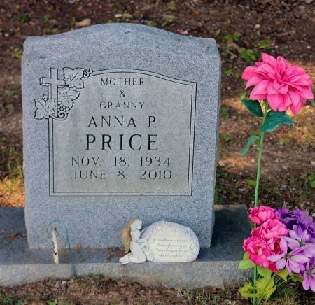 PRICE, ANNA P. - Craig County, Virginia | ANNA P. PRICE - Virginia Gravestone Photos