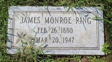RING, JAMES MONROE - Craig County, Virginia | JAMES MONROE RING - Virginia Gravestone Photos