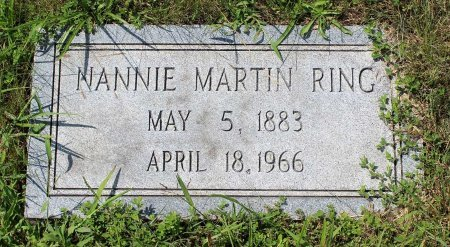 RING, NANNIE  - Craig County, Virginia | NANNIE  RING - Virginia Gravestone Photos