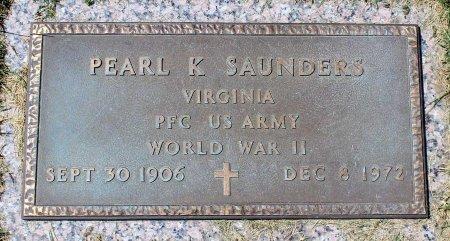 SAUNDERS, PEARL K. - Craig County, Virginia | PEARL K. SAUNDERS - Virginia Gravestone Photos
