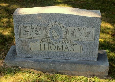 THOMAS, WILLIAM B. - Craig County, Virginia | WILLIAM B. THOMAS - Virginia Gravestone Photos