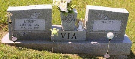 VIA, ROBERT - Craig County, Virginia | ROBERT VIA - Virginia Gravestone Photos