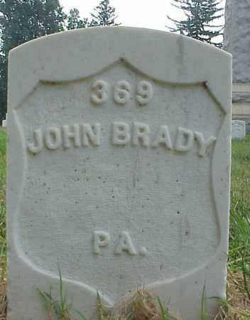 BRADY (CW), JOHN - Culpeper County, Virginia | JOHN BRADY (CW) - Virginia Gravestone Photos