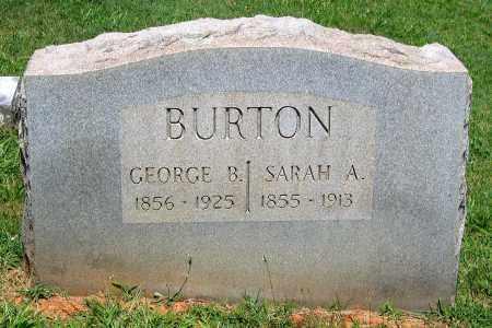 BURTON, SARAH A. - Culpeper County, Virginia | SARAH A. BURTON - Virginia Gravestone Photos