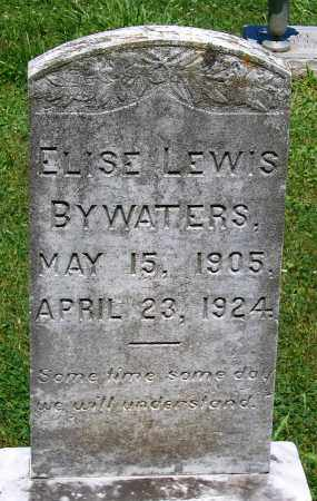BYWATERS, ELISE LEWIS - Culpeper County, Virginia | ELISE LEWIS BYWATERS - Virginia Gravestone Photos