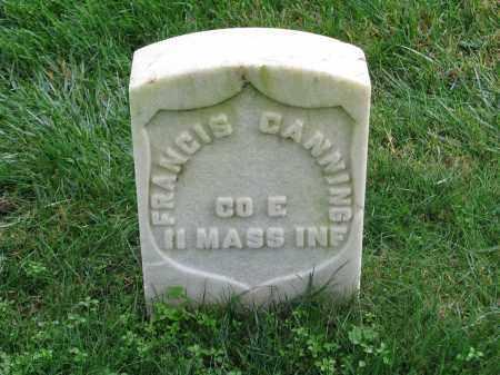 CANNING  (CW), FRANCIS - Culpeper County, Virginia | FRANCIS CANNING  (CW) - Virginia Gravestone Photos