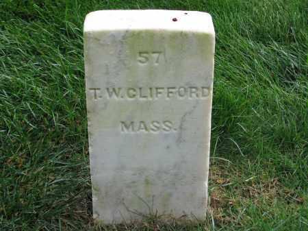 CLIFFORD (CW), THOMAS W. - Culpeper County, Virginia | THOMAS W. CLIFFORD (CW) - Virginia Gravestone Photos