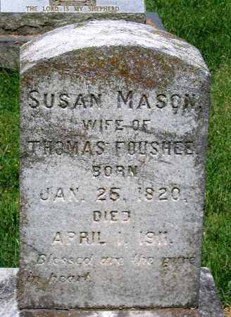 FOUSHEE, SUSAN - Culpeper County, Virginia | SUSAN FOUSHEE - Virginia Gravestone Photos