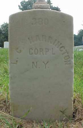 HARRINGTON (CW), LORENZO C. - Culpeper County, Virginia | LORENZO C. HARRINGTON (CW) - Virginia Gravestone Photos