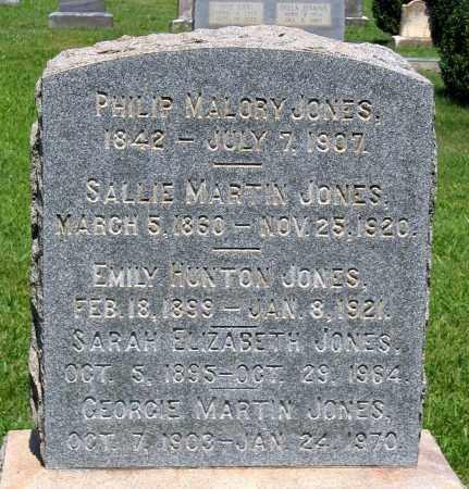 JONES, SARAH ELIZABETH - Culpeper County, Virginia | SARAH ELIZABETH JONES - Virginia Gravestone Photos