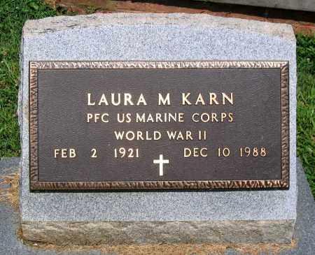 KARN, LAURA M. - Culpeper County, Virginia | LAURA M. KARN - Virginia Gravestone Photos