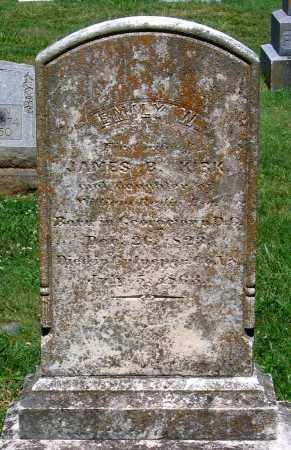 KIRK, EMILY W. - Culpeper County, Virginia   EMILY W. KIRK - Virginia Gravestone Photos