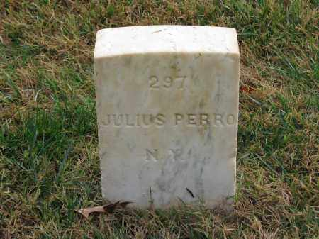 PERRO (CW), JULIUS - Culpeper County, Virginia | JULIUS PERRO (CW) - Virginia Gravestone Photos