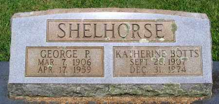 BOTTS SHEHORSE, KATHERINE - Culpeper County, Virginia | KATHERINE BOTTS SHEHORSE - Virginia Gravestone Photos