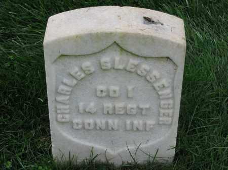 SLESSENGER (CW), CHARLES - Culpeper County, Virginia | CHARLES SLESSENGER (CW) - Virginia Gravestone Photos