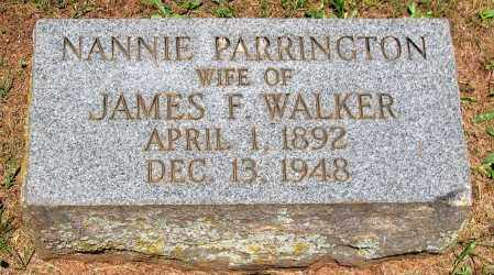 WALKER, NANNIE - Culpeper County, Virginia   NANNIE WALKER - Virginia Gravestone Photos