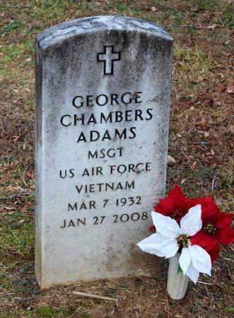 ADAMS, GEORGE CHAMBERS - Cumberland County, Virginia | GEORGE CHAMBERS ADAMS - Virginia Gravestone Photos