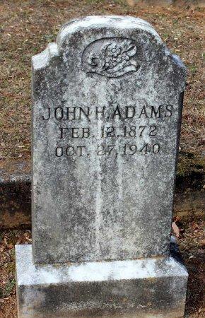 ADAMS, JOHN H. - Cumberland County, Virginia   JOHN H. ADAMS - Virginia Gravestone Photos