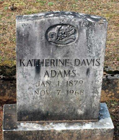 ADAMS, KATHERINE - Cumberland County, Virginia   KATHERINE ADAMS - Virginia Gravestone Photos