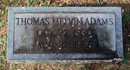 ADAMS, THOMAS MELVIN - Cumberland County, Virginia   THOMAS MELVIN ADAMS - Virginia Gravestone Photos