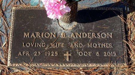 ANDERSON, MARION B. - Cumberland County, Virginia | MARION B. ANDERSON - Virginia Gravestone Photos