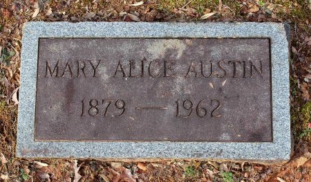 AUSTIN, MARY ALICE - Cumberland County, Virginia | MARY ALICE AUSTIN - Virginia Gravestone Photos