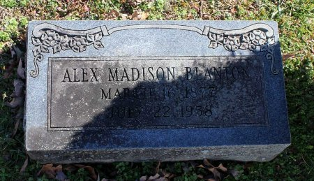 BLANTON, ALEX MADISON - Cumberland County, Virginia | ALEX MADISON BLANTON - Virginia Gravestone Photos