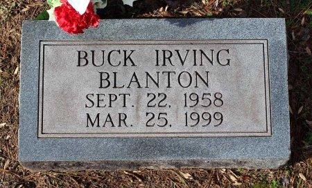 BLANTON, BUCK IRVING - Cumberland County, Virginia | BUCK IRVING BLANTON - Virginia Gravestone Photos